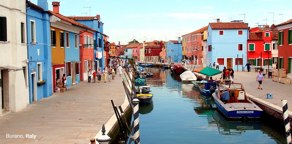 Burano Contact Us Page Banner One